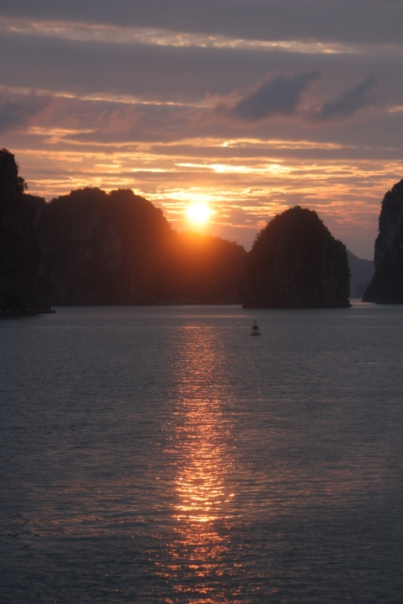 Taken on January 1, 2016 on Bai Tu Long Bay