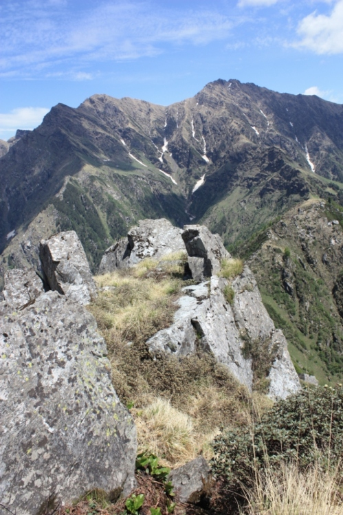 The same ridge line, further on.