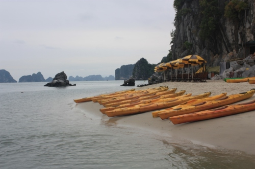 Taken on December 31, 2015 in Bai Tu Long Bay