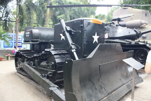 Taken in December of 2015 at the War Remnants Museum in Ho Chi Minh City