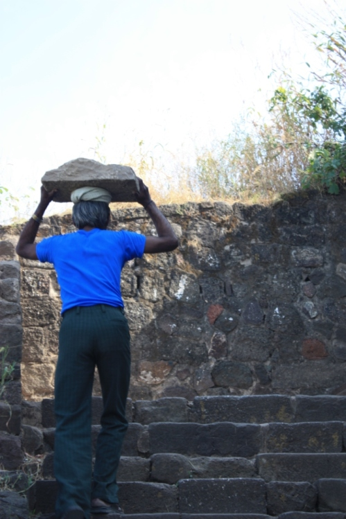 Taken in October of 2014 at Daulatabad Fort