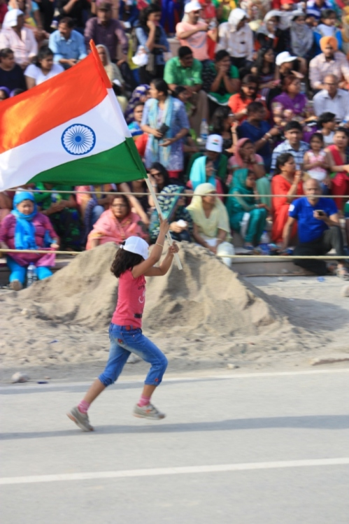 Taken in April of 2016 at the Wagah border crossing