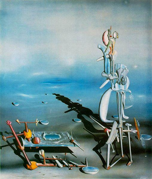 """Indefinite Divisibility"" (1942) by Yves Tanguy"