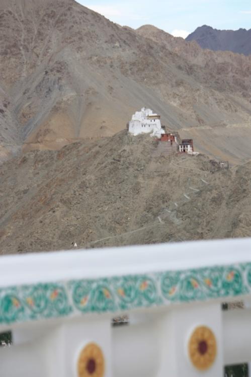 From the Shanti Stupa
