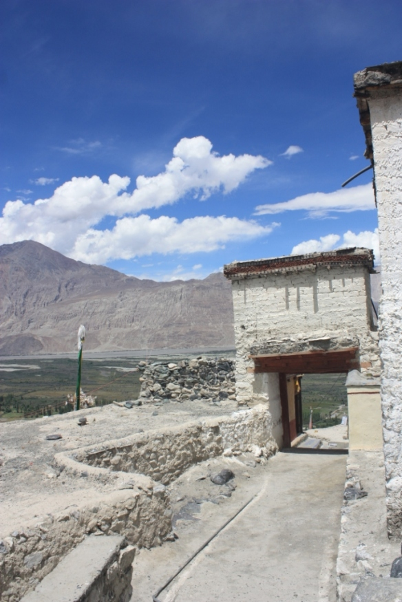 Taken in August of 2016 at Diskit Gompa in Nubra Valley
