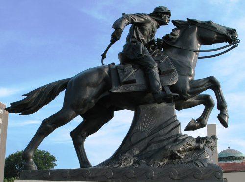 Source: Wikipedia; Sculptor Hermon Atkins MacNeil