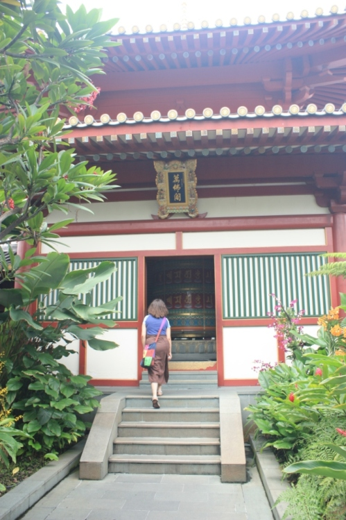 Rooftop Garden and the Giant Prayer Wheel