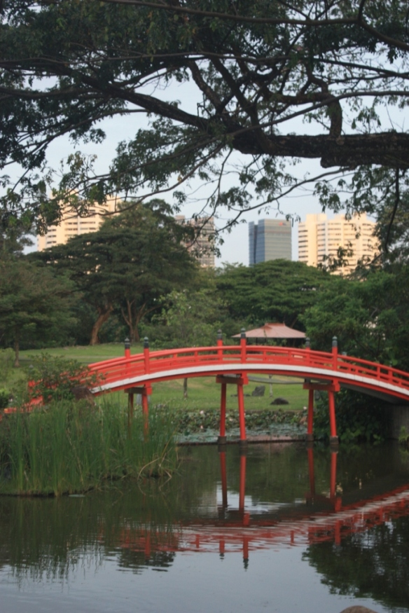 Taken in the Japanese Garden in Singapore on October 30, 2016