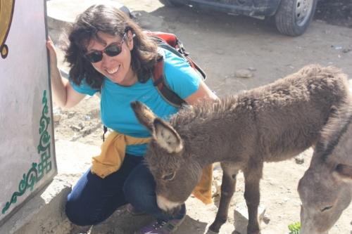 Lilla and Eeyore in Leh