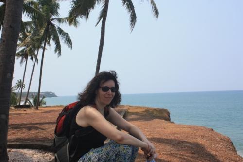 Varkala, Kerala in early April