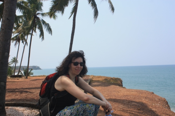 Varkala, Kerala in early April