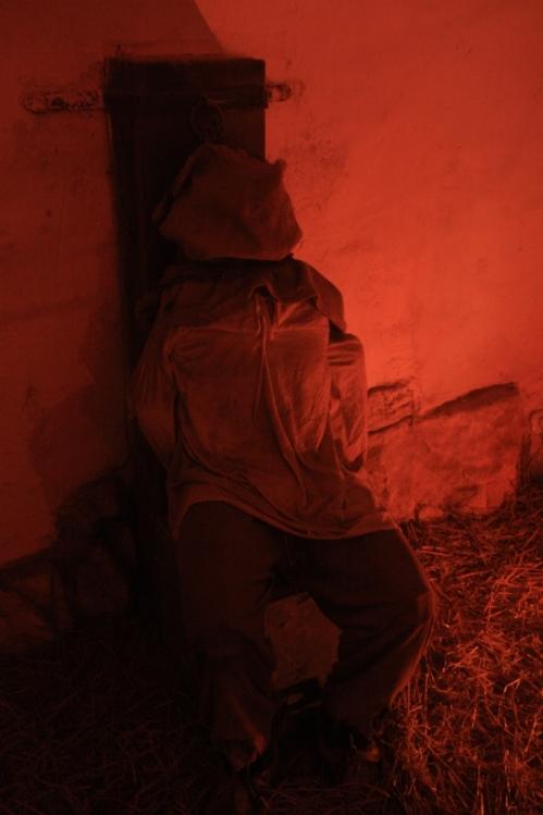 In the dungeon (i.e. the várbörtön)