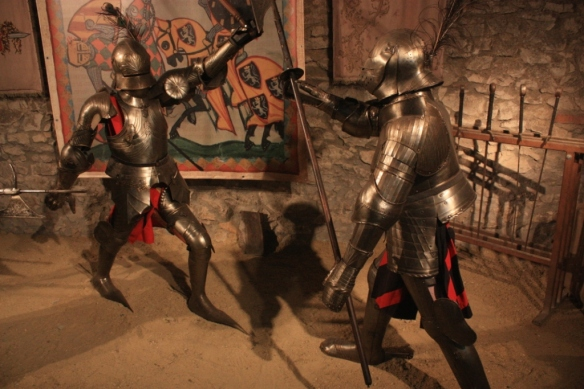 Medieval warfare, check out those pointy boots