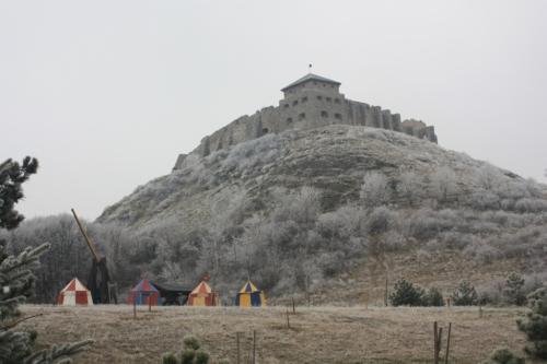 The Castle; Taken on December 20, 2016 at Sümeg