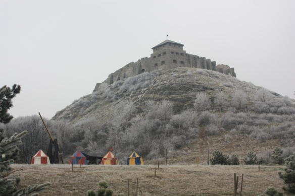 The Castle; Taken on December 20, 2016 at Sümeg