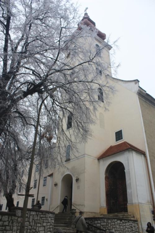 Sarlós Boldogasszony Ferences Kegytemplom; Taken on December 20, 2016 in Sümeg, Hungary