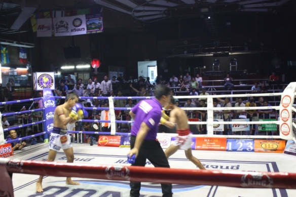 Taken in September of 2015 at the Rangsit International Boxing Stadium
