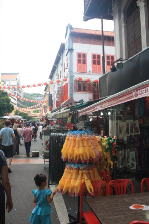 Taken in Singapore's Chinatown in October of 2016