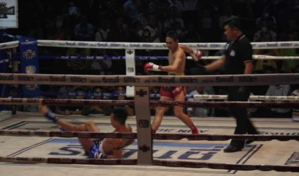 Taken on February 19, 2017 at Rangsit Boxing Stadium