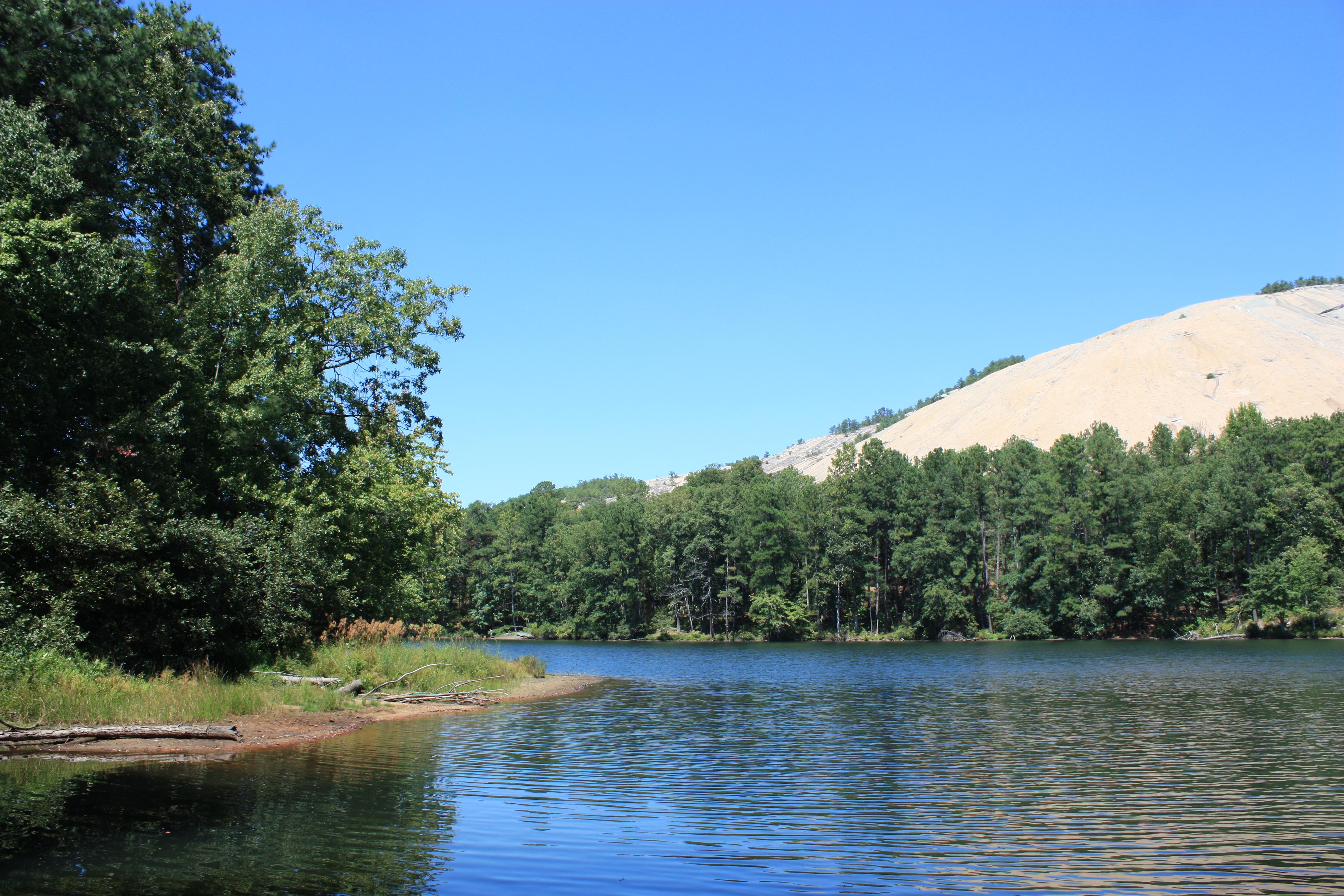 Daily Photo Stone Mountain Lake The N Tro Verted Yogi