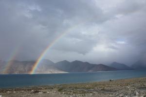Double Rainbow [Haibun]